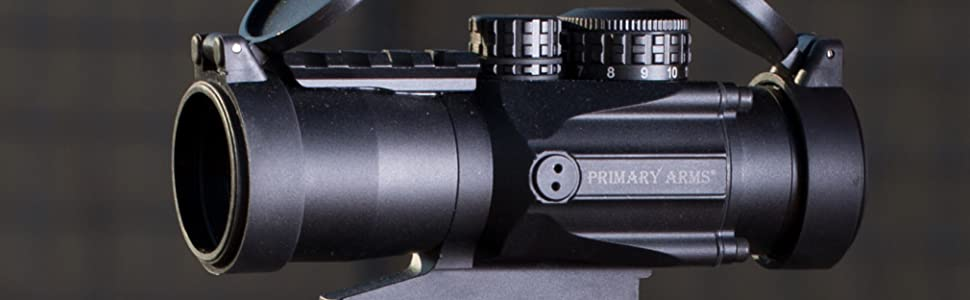 Primary Arms Silver Series Compact 3x32 Gen II Prism Scope ACSS-CQB 300BLK/7.62x39 Reticle Mounted