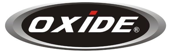 Oxide motorbike panniers saddle bags logo