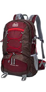 Aveler 40L Unisex Lightweight Nylon High Performance Internal Frame Backpack