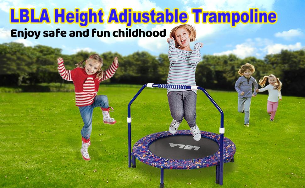LBLA Height Adjustable Trampoline