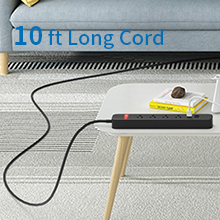 indoor surge protector extension cord