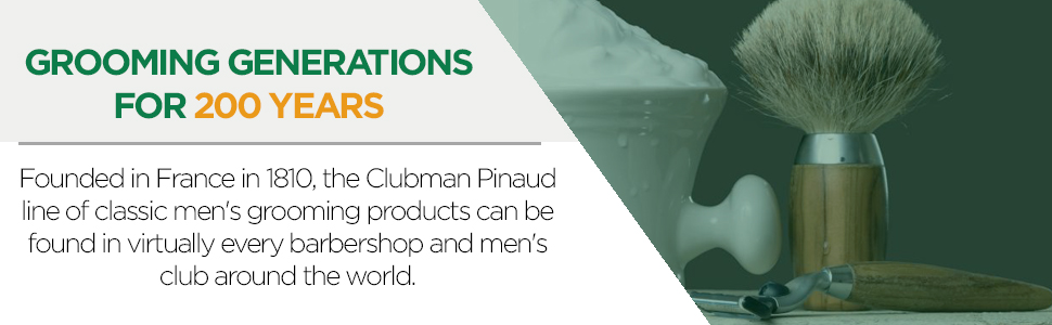 Clubman 2-in-1 Beard Conditioner and Face Moisturizer, 3 oz, 2 pack