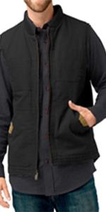 vest conceal carry gun venado shirt canvas