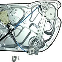 749-353 LOSTAR Front Power Window Regulator Right Passenger Side Door For 2010 2011 2012 2013 2014 2015 2016 Hyundai Genesis Coupe 2.0L 3.8L 82481-2M000 824812M000