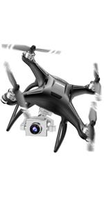 Flashandfocus.com 67eb35d8-429e-4972-aff2-4f341bc8e286.__CR0,0,150,300_PT0_SX150_V1___ SIMREX X300C Mini Drone RC Quadcopter Foldable Altitude Hold Headless RTF 360 Degree FPV Video WiFi 720P HD Camera 6…