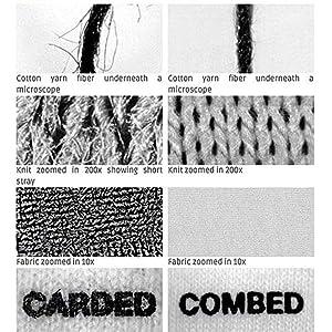 We use Combed Yarn