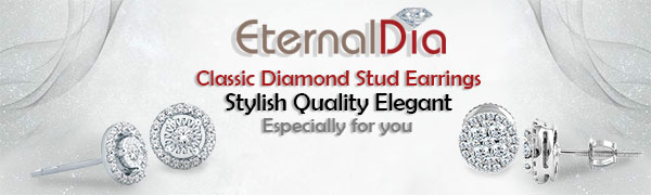 Eternaldia Diamond Stud Earrings