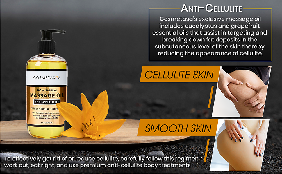 cellulite skin, smooth skin