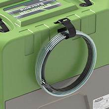 Easy Cord and Hose Storage