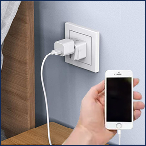 Wall socket adapter for au