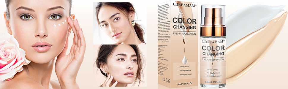 Foundation Color Changing
