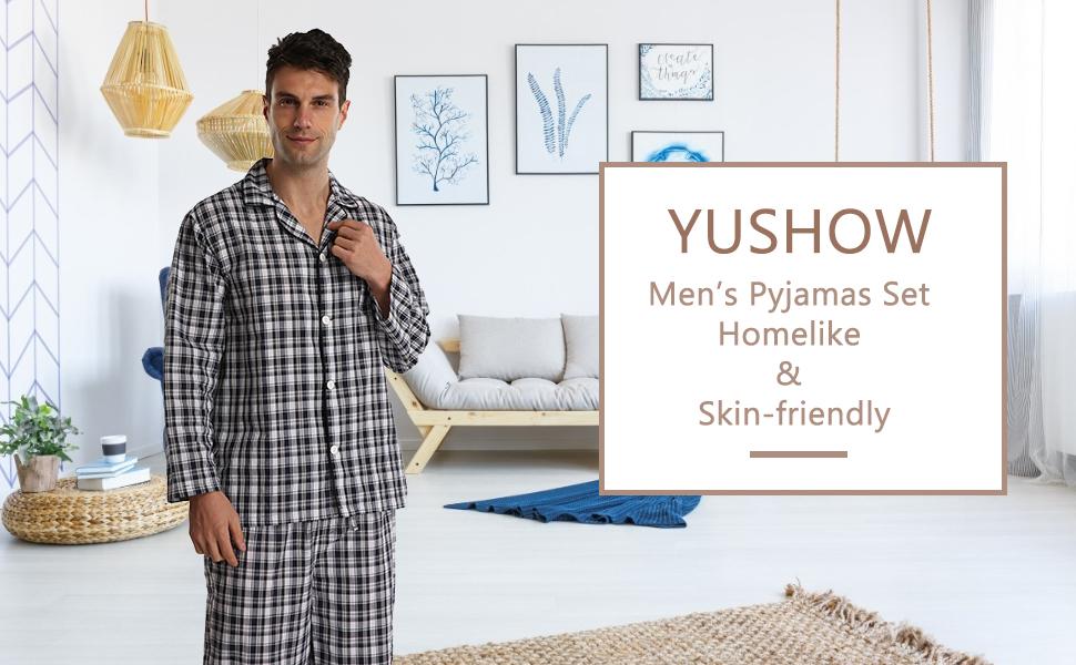 mens pyjamas Set