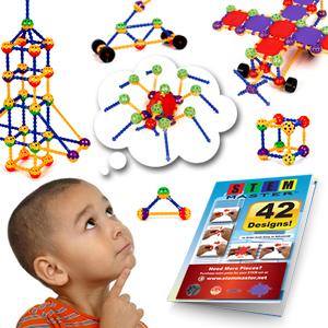 STEM toys building instruction guide