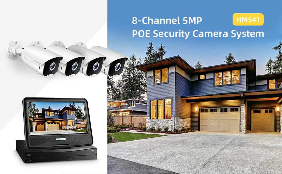 HM541 security camera system