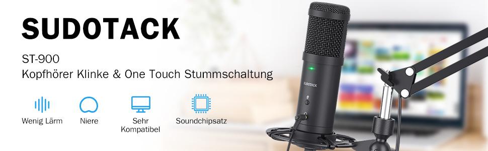 Opnamemicrofoon voor zang
