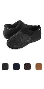 ULTRAIDEAS Men's Cozy Memory Foam Slippers w/Warm Fleece Lining