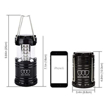 Led camping lantern small battery operated