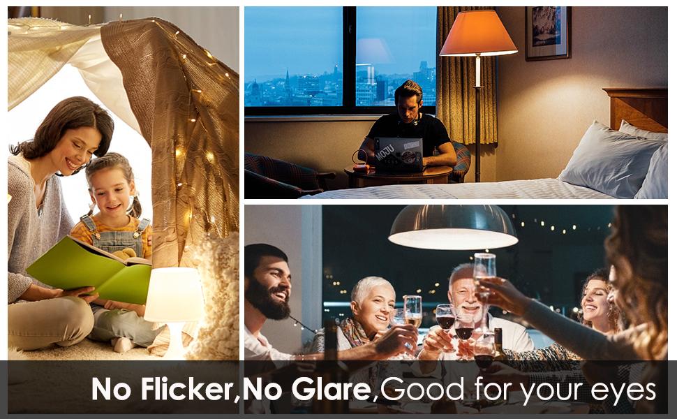 No flicker led bulb 75W