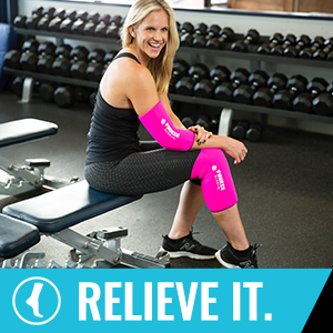 Freeze Sleeve, Sleeve, Relieve It, Relief, Cold, Compression, Therapy, Arm, Legs, Rehab
