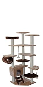 CozyCatFurniture Extra Large Cat Tower Tree Kitty Climber