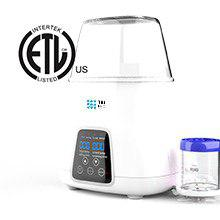 bottle warmer5 - TBI Pro 5-in-1 Portable Fast Baby Bottle Warmer For Baby Milk Breastmilk - Bottle Sterilizer With Timer Safe Auto-Off Function - Two Bottles BPA-Free For Babies Infant Food Rapid Defrosting Heating