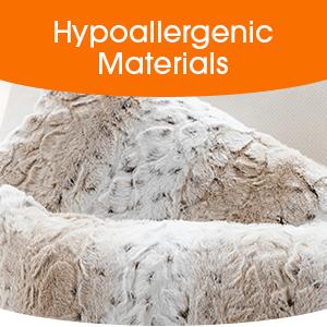 hypoallergenic materials throw pillow