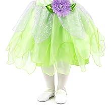 Tinkerbell fairy silvermist peter pan princess costume disney