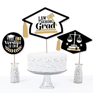Law Centerpiece Future Lawyer Graduation Centerpiece Lawyer Centerpiece