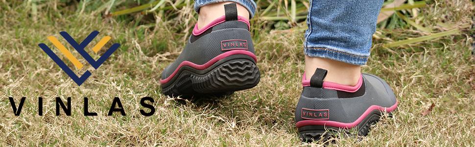 Vinlas Unisex Rubber Garden Shoes