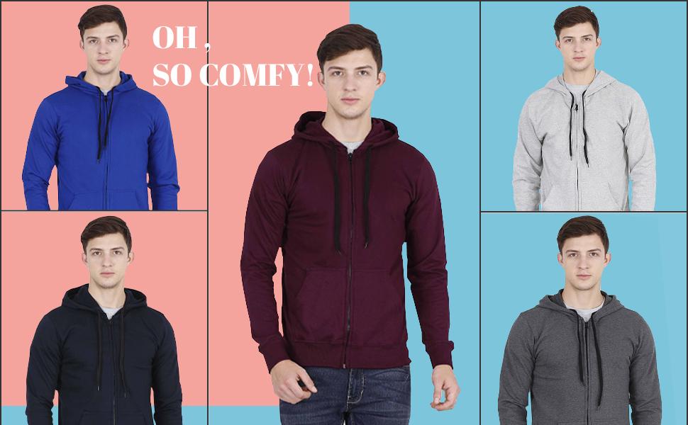 zipper hoodies for mens