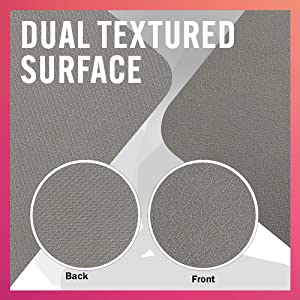 Dual Textured Surface