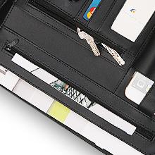 leather folder portfolio