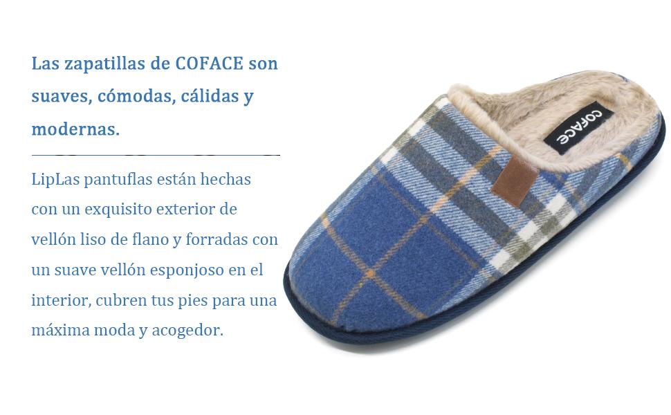 Zapatillas suaves, cómodas, cálidas y modernas