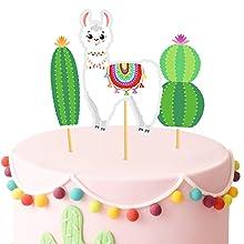 llama party decorations