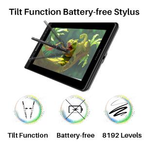 Tilt Function Battery-free Stylus
