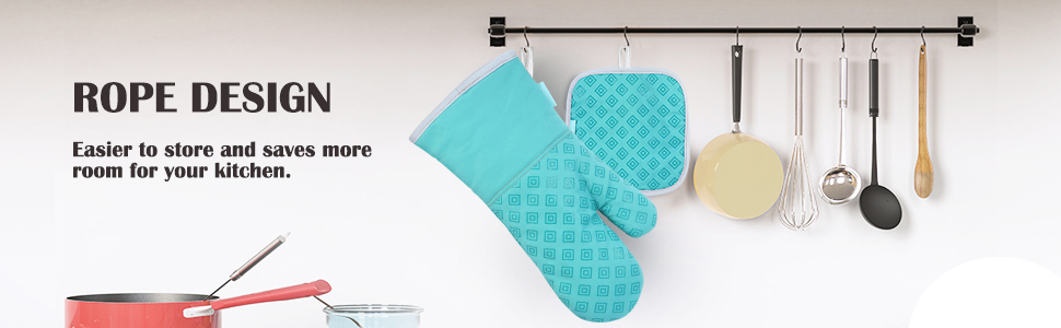 Oven mitts 10