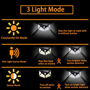 three light modes