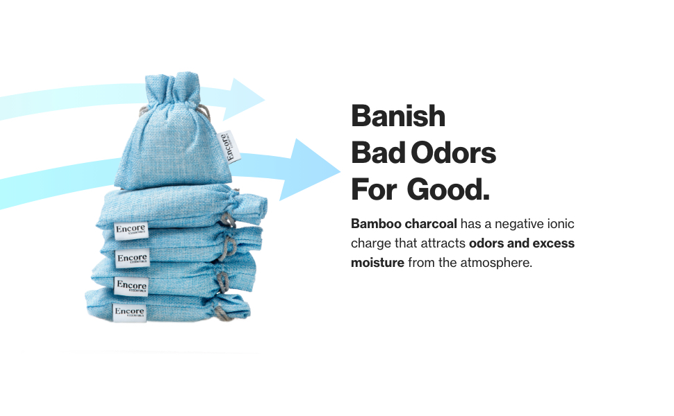bad odors bamboo charcoal bags