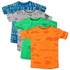 Pack of 4 Boy's T-Shirt