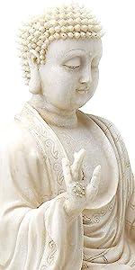 Buddha Statue  Enlightenment Meditation Decor, Spiritual Living Room Decor, Yoga Zen Decor