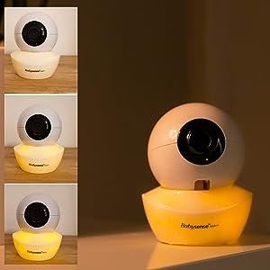 Babysense Video Monitor V43 Adjustable Night Light