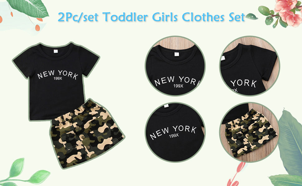 New York Outfits for baby girls
