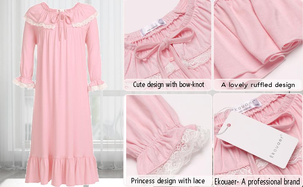Comfortable girls nightgown