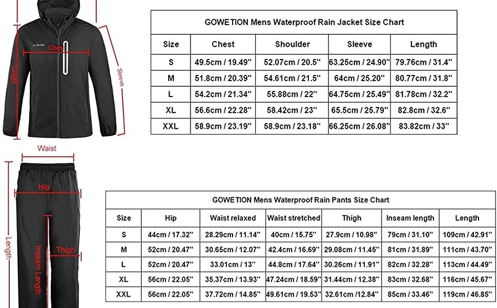 Conjunto impermeable packable rain jacket  impermeables para la lluvia hombre mens fall jacket