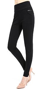 6002-Dress Pants for women Skinny Stretch