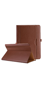 Stand Folio Case Protective Cover - Brown