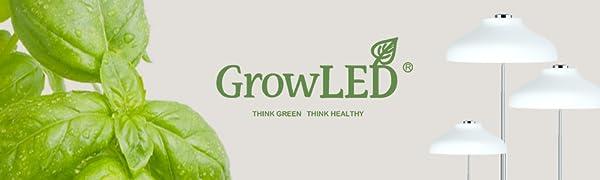 GrowLED Umbrella Grow Light Height Adjustable