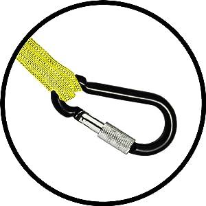 Carabiner Karabiner carabener clip aluminium hanger secure lock screw hook clasp clamp holder
