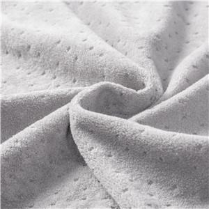 soft breathable velour pillowcase fabric