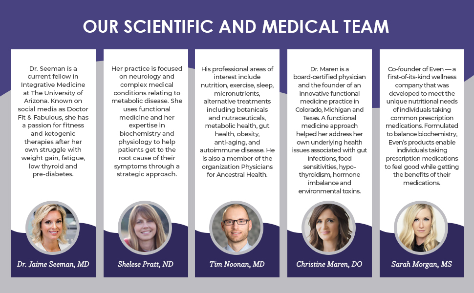 science and medical team